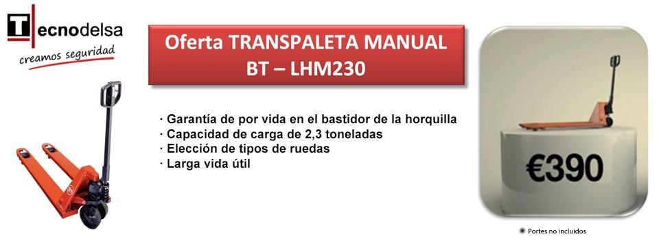 Transpaleta manual