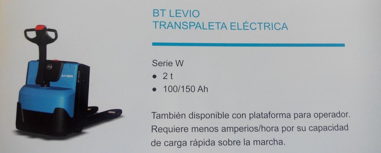 Transpaleta BT LEVIO