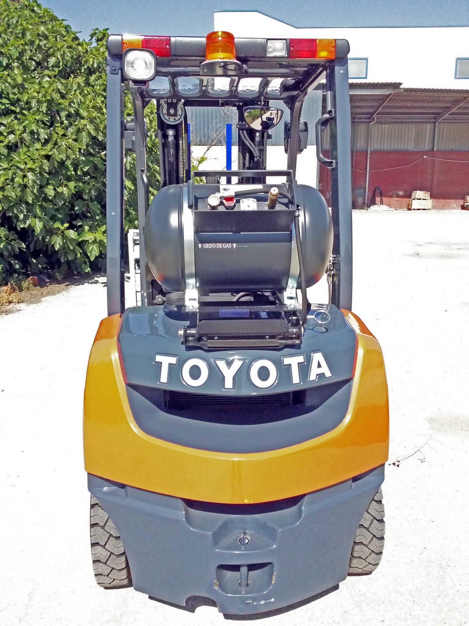 arretilla Toyota hidrostática de gas