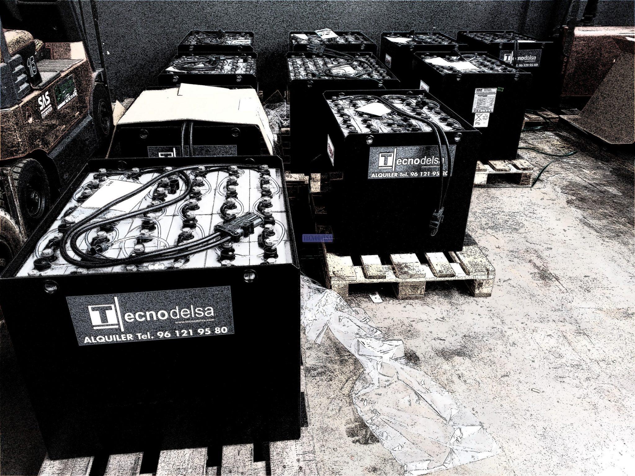 Baterías carretillas elevadoras