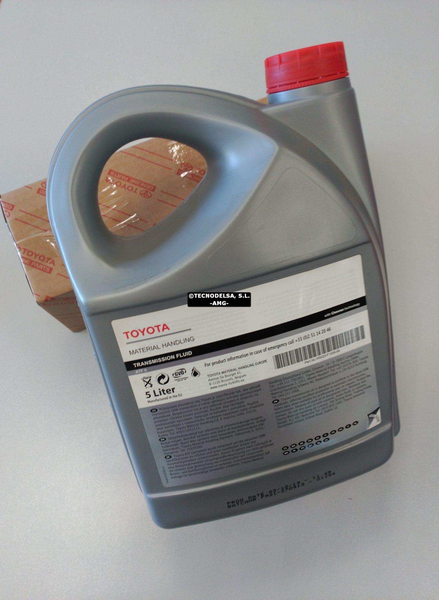 Aceite convertidor carretillas elevadoras