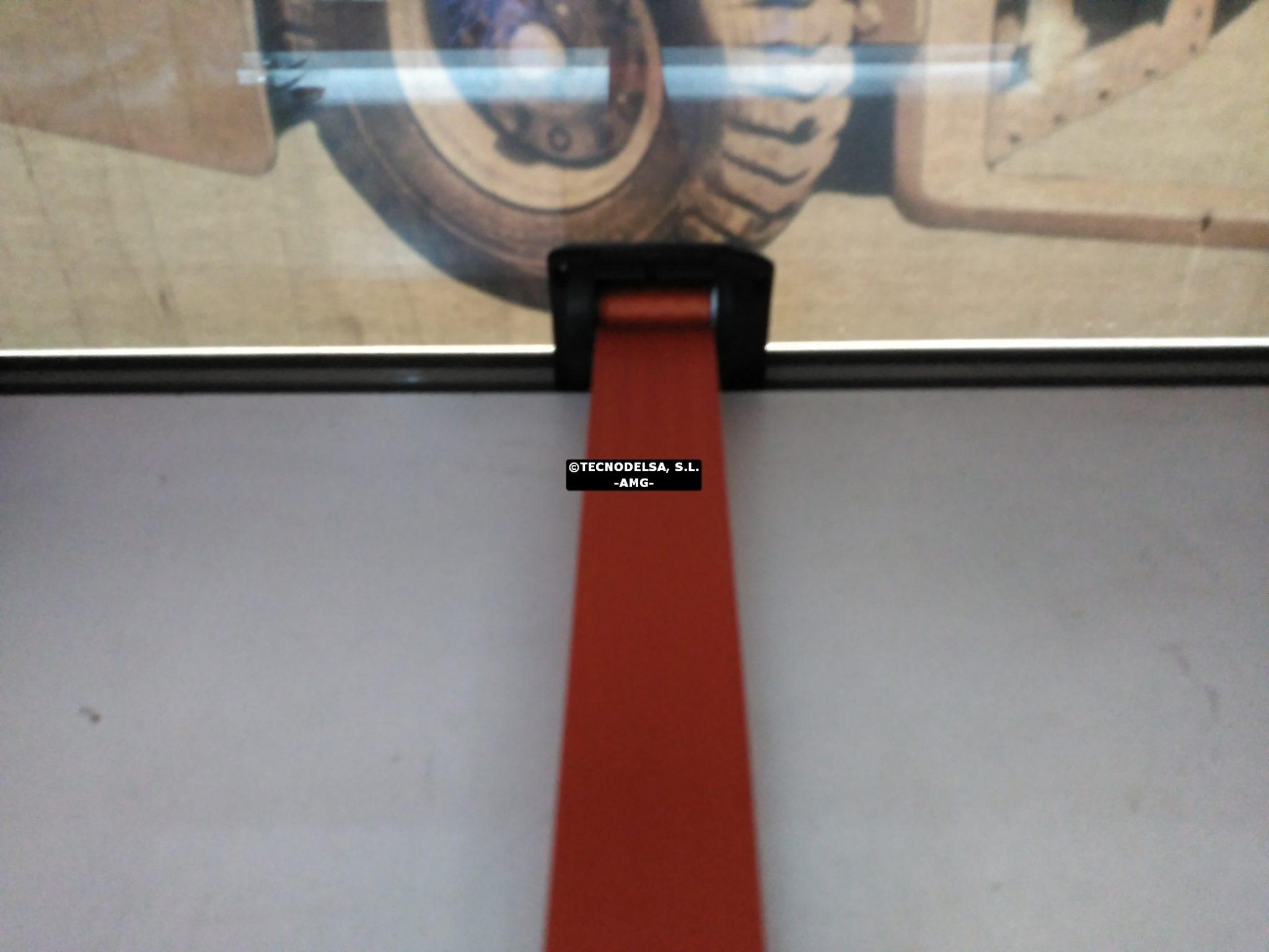 Cinturón de seguridad carretilla elevadora