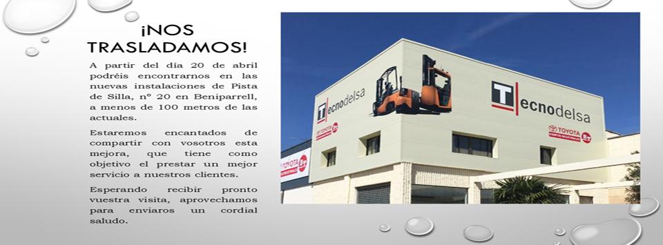 Nuevas instalaciones Tecnodelsa