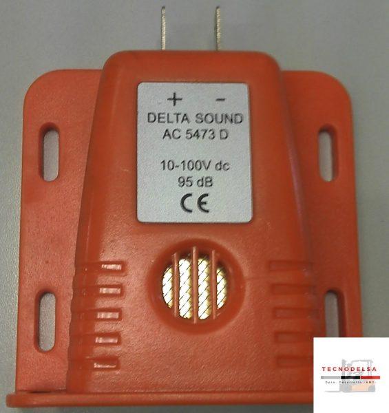 avisador acústico carretilla elevadora