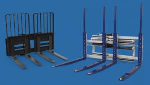 Manejo de cargas múltiples carretillas elevadoras