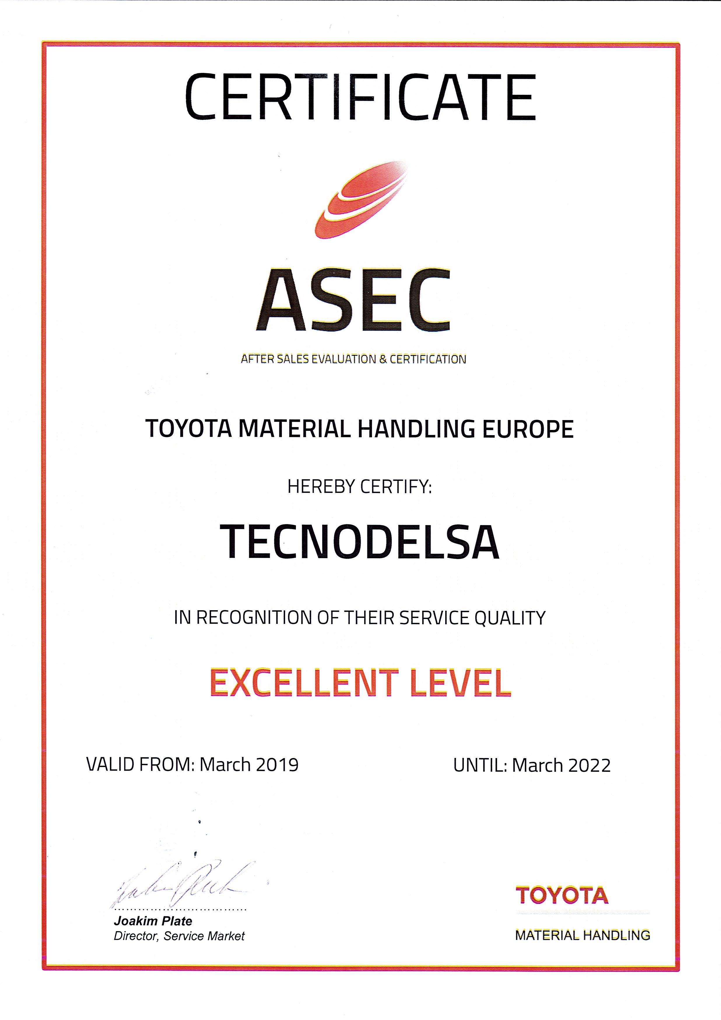 ASEC 2019 Toyota