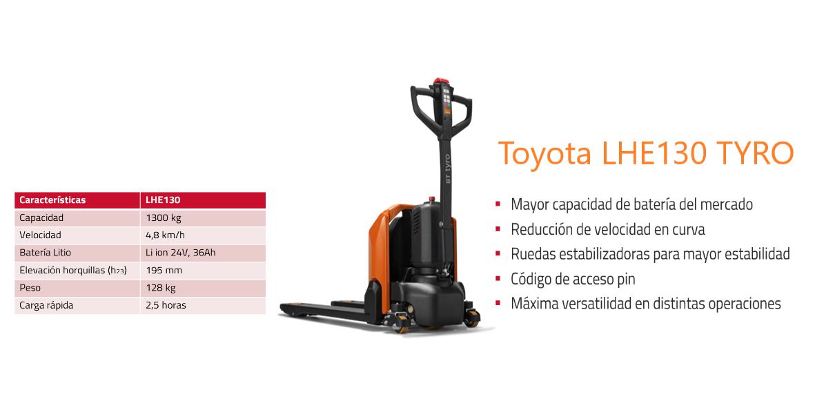 Toyota LHE130 TYRO-s.